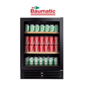 Baumatic Black 178 Can Beverage Centre