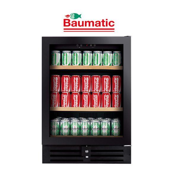 Baumatic Black 178 Can Beverage Centre
