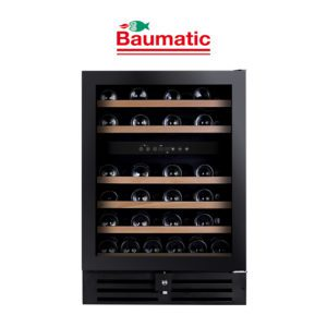 Baumatic BWC646 - 60cm 46 Bottle Wine Fridge Storage