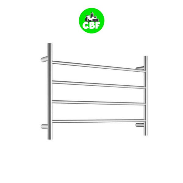 CBFTL75R – Round 4 Rung Bathroom Non Heated Towel Ladder