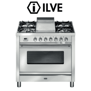 ILVE P90FWMP 90cm Stove/Cooker - Electric Oven &Gas Cooktop