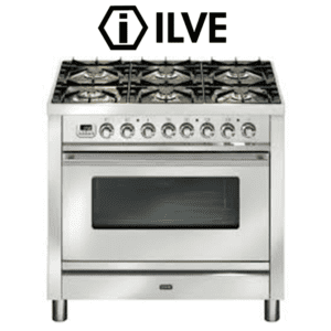 ILVE PW906VG 90cm Stove Cooker - Electric Oven &Gas Cooktop