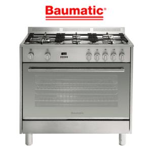 Baumatic BAF90EG 90cm Stove Cooker - LPG & Natural Gas Oven & Cooktop
