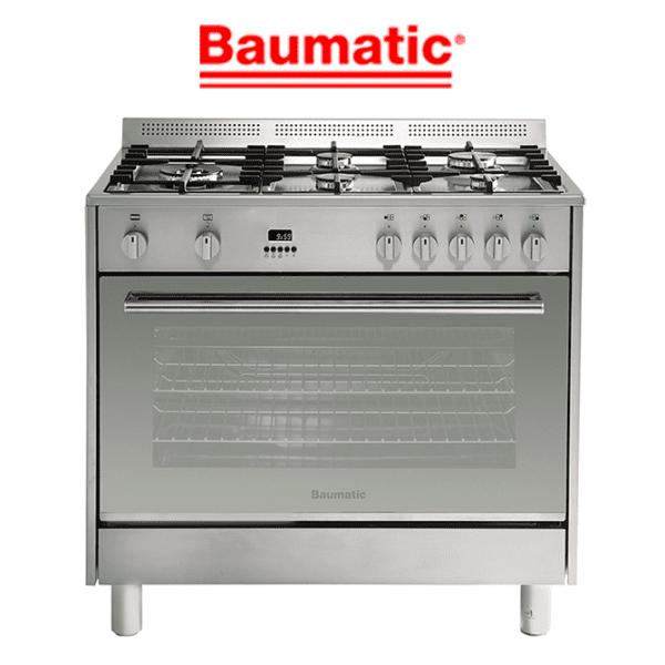 Baumatic BAF90EG 90cm Stove Cooker – LPG & Natural Gas Oven & Cooktop
