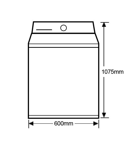 Fisher-Paykel-WA8560P1-FabricSmart-85kg-Top-Load-Washing-Machine-Front-high
